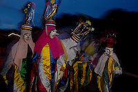 Festival dos Bois de Máscara, grupo folclórico Boitinga.<br /> São Caetano de Odivelas, Pará, Brasil.<br /> Foto Paulo Santos<br /> 06/06/2009