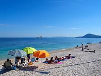 Strand Spiaggia delle Ghiaie, Portoferraio, Elba, Region Toskana, Provinz Livorno, Italien, Europa<br /> Beach Spiaggia delle Ghiaie, Portoferraio, Elba, Region Tuscany, Province Livorno, Italy, Europe