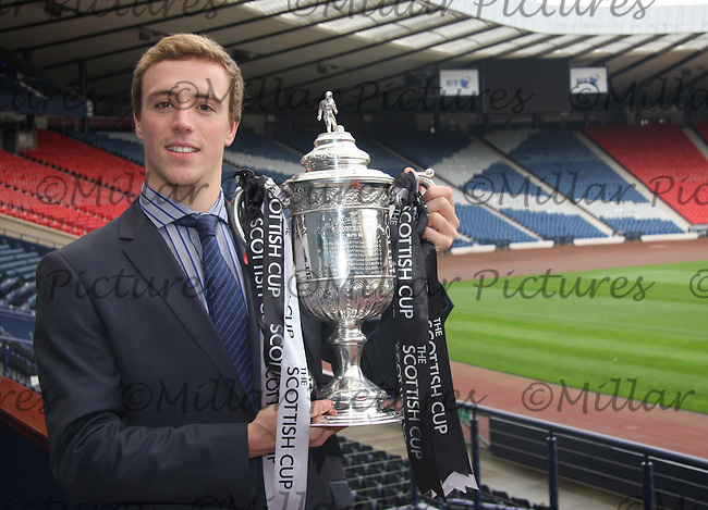 Robbie Renwick with the Scottish Cup