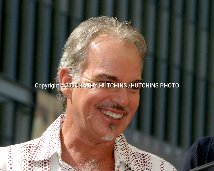 ©2004 KATHY HUTCHINS /HUTCHINS PHOTO.BILLY BOB THORNTON RECEIVES A STAR ON THE HOLLYWOOD WALK OF FAME.Los Angeles, CA.OCTOBER 7, 2004..BILLY BOB THORNTON