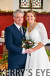 Emily Nell Hurianek, daughter of Denis & Nancy Hurianek, Niwot, Colorado, USA and Andrew Nicholas Sweeney, son of Dan & Sylvia Sweeney, Rathea, Listowel & Manchester who were married on the 29th December in the Church of the Immaculate Conception, Rathea by Fr. Gerard O'Connell.The best man was Tim Sweeney and the grooms man was Daniel Sweeney. The bridsemaids were Erin Kabusreiter-Jones, Kanani Esserman & Victoria Hiller. The flower girls were Sorinn Jones & Niamh Sweeney. The reception was held in the Listowel Arms Hotel and the couple will live in Mallow.