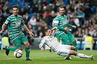 Real Madrid´s Chicharito (C) during Spanish King Cup match between Real Madrid and Cornella at Santiago Bernabeu stadium in Madrid, Spain.December 2, 2014. (NortePhoto/ALTERPHOTOS/Victor Blanco)