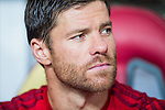 Xabi Alonso of Bayern Munich look on prior to the Bayern Munich vs Guangzhou Evergrande as part of the Bayern Munich Asian Tour 2015  at the Tianhe Sport Centre on 23 July 2015 in Guangzhou, China. Photo by Aitor Alcalde / Power Sport Images