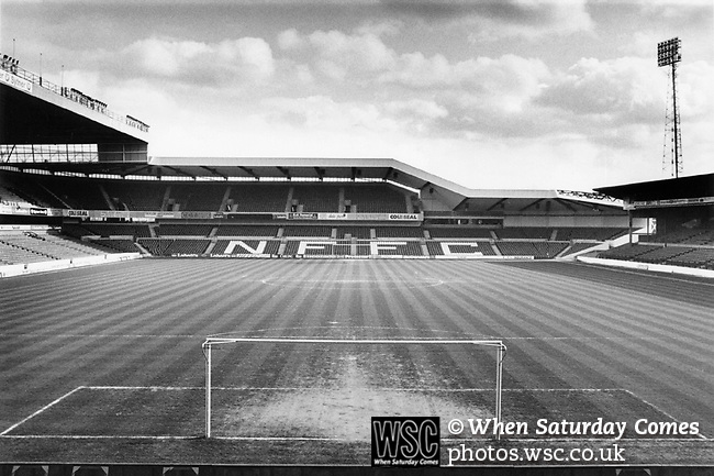 The City Ground, home of Nottingham Forest FC. Photo by Tony Davis