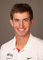 STANFORD, CA - NOVEMBER 16:  Gregory Hirschman of the Stanford Cardinal during men's tennis picture day on November 16, 2009 in Stanford, California.