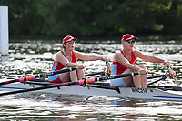 Race: 133  W.MasE.2x  Semi-Final<br /> 381  Wallingford Rowing Club<br /> 382  York City Rowing Club<br /> <br /> Henley Masters Regatta 2018 - Friday<br /> <br /> To purchase this photo, or to see pricing information for Prints and Downloads, click the blue 'Add to Cart' button at the top-right of the page.
