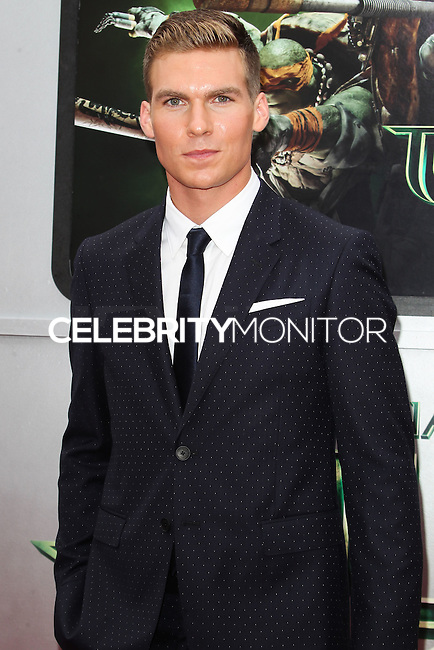 WESTWOOD, LOS ANGELES, CA, USA - AUGUST 03: Pete Ploszek at the Los Angeles Premiere Of Paramount Pictures' 'Teenage Mutant Ninja Turtles' held at Regency Village Theatre on August 3, 2014 in Westwood, Los Angeles, California, United States. (Photo by Celebrity Monitor)