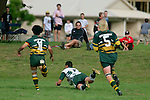 Manurewa right wing M. Silioto scores the first of his 2 tries. Counties Manukau Premier Club Rugby, Pukekohe v Manurewa  played at the Colin Lawrie field, on the 17th of April 2006. Manurewa won 20 - 18.