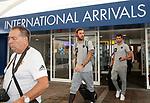 08.08.18 FK Maribor arrive at Glasgow airport: Amir Dervišević