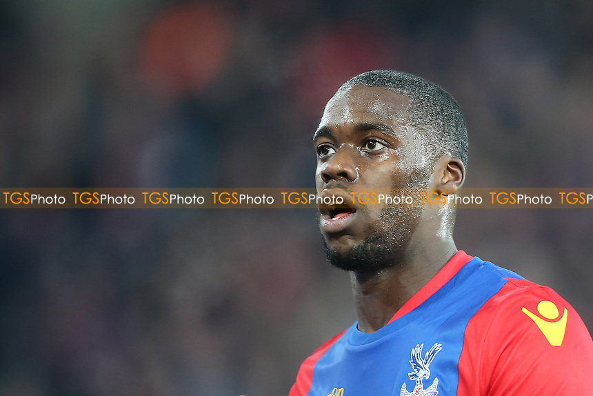 Jeffrey Schlupp during Crystal Palace vs Everton, Premier League Football at Selhurst Park on 21st January 2017
