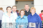 Running at the Killarney Lions Club 10km mini marathon on Sunday was l-r: Marie O'Shea, Liam Murphy, Eileen O'Connor, Colm O'Shea and Bridget Clarke Killarney