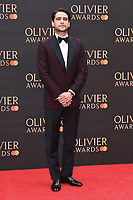 Luke Pasquilano<br /> arriving for the Olivier Awards 2019 at the Royal Albert Hall, London<br /> <br /> ©Ash Knotek  D3492  07/04/2019