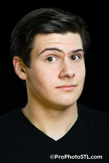 Max Fiorello studio head shots