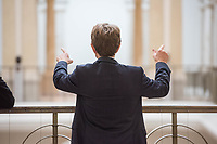 4. Sitzung des 2. Untersuchungsausschusses <br /> der 18. Wahlperiode des Berliner Abgeordnetenhaus - &quot;BER II&quot; - am Freitag den 12. Oktober 2018.<br /> Der Ausschuss soll die Ursachen, Konsequenzen und Verantwortung fuer die Kosten- und Terminueberschreitungen des im Bau befindlichen Flughafens &quot;Berlin Brandenburg Willy Brandt&quot; aufklaeren.<br /> Als oeffentlicher Tagesordnungspunkt war die Beweiserhebung durch Vernehmung des Zeugen  BER-Chef Prof. Dr.-Ing. Engelbert Luetke Daldrup vorgesehen.<br /> Im Bild: Der BER-Chef Engelbert Luetke Daldrup vor Beginn der Sitzung.<br /> 12.10.2018, Berlin<br /> Copyright: Christian-Ditsch.de<br /> [Inhaltsveraendernde Manipulation des Fotos nur nach ausdruecklicher Genehmigung des Fotografen. Vereinbarungen ueber Abtretung von Persoenlichkeitsrechten/Model Release der abgebildeten Person/Personen liegen nicht vor. NO MODEL RELEASE! Nur fuer Redaktionelle Zwecke. Don't publish without copyright Christian-Ditsch.de, Veroeffentlichung nur mit Fotografennennung, sowie gegen Honorar, MwSt. und Beleg. Konto: I N G - D i B a, IBAN DE58500105175400192269, BIC INGDDEFFXXX, Kontakt: post@christian-ditsch.de<br /> Bei der Bearbeitung der Dateiinformationen darf die Urheberkennzeichnung in den EXIF- und  IPTC-Daten nicht entfernt werden, diese sind in digitalen Medien nach &sect;95c UrhG rechtlich geschuetzt. Der Urhebervermerk wird gemaess &sect;13 UrhG verlangt.]
