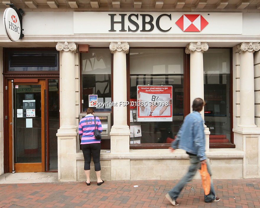 02/11/14 file photo<br /> <br /> HSBC profits lower than expected