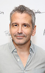 David Cromer during the first day of rehearsals for the Playwrights Horizons production of 'The Treasurer' on August 1, 2017 at the Playwrights rehearsal studio in New York City.
