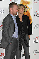 "LOS ANGELES - NOV 5:  Robin Wright, Ben Foster arrives at the AFI FEST 2011 Gala Screening of ""Rampart"" at Grauman's Chinese Theater on November 5, 2011 in Los Angeles, CA"