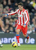Atletico de Madrid's Koke during La Liga Match. December 02, 2012. (ALTERPHOTOS/Alvaro Hernandez)