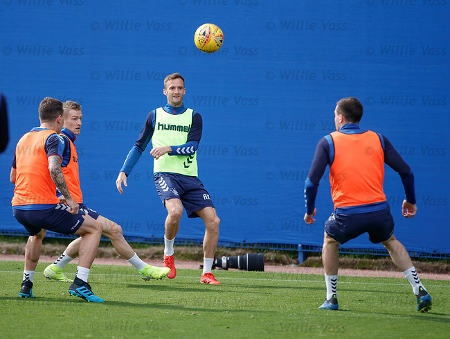 28.08.2019 Rangers training: Andy King
