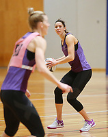 29.08.2017 Silver Ferns Kayla Cullen in action during the Silver Ferns training in Auckland. Mandatory Photo Credit ©Michael Bradley.
