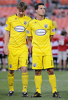 Columbus Crew forward midfielder Dilly Duka (11)  The Columbus Crew defeated DC United 1-0 at RFK Stadium, Saturday September 4, 2010.