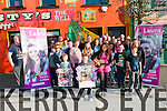 Voice Of Ireland : Voice of Itreland contestant, Lara Enright from Glin pictured with supporters at Christy's Bar, Listowel on Saturday last.