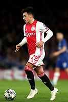 5th November 2019; Stamford Bridge, London, England; UEFA Champions League Football, Chelsea Football Club versus Ajax; Lisandro Martínez of Ajax - Editorial Use