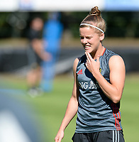 20170717 - RIJEN , NETHERLANDS :  Belgian Laura Deloose pictured during a training session of the Belgian national women's soccer team Red Flames on the pitch of Rijen , on Tuesday 18 July 2017 in Rijen . The Red Flames are at the Women's European Championship 2017 in the Netherlands. PHOTO SPORTPIX.BE | DAVID CATRY