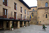 The Parador Santo Domingo de la Calzada, an old hospital converted into a hotel, is along the pilgrimage route to Santiago de Compostela in the La Rioja region of Spain. Photo by Kevin J. Miyazaki/Redux