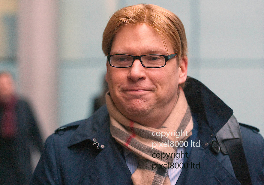 Thomas Ammann  German back from Mizuho Bank arrives at Southwark Crown Court today 12.12.12 for sentencing....Thomas Ammann, 39, handed over the confidential details about a future City takeover bid to Christina Weckwerth and Jessica Mang, it was claimed..The two women allegedly used the sensitive insider information to 'almost double their money' by buying and selling shares in one company..Ammann, who worked at the London offices of Japanese bank Mizuho, was one of only seven at the bank who knew that global electronics company Canon was planning a takeover of Dutch printing firm Oce..The German banker allegedly shared this sensitive information with his two lovers - who had no knowledge of  each other - months before the deal became public. Weckwerth, 44, made nearly £2million while Mang, 29, pocketed £60,000 from their illicit trading, it was claimed...Both Mang and Weckwerth were cleared of illegality......Pic by Gavin Rodgers/Pixel 8000 Ltd