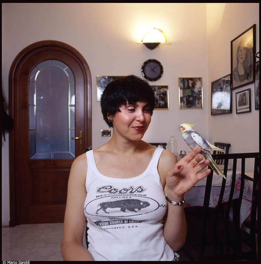 Antonella, transessuale a Torino.