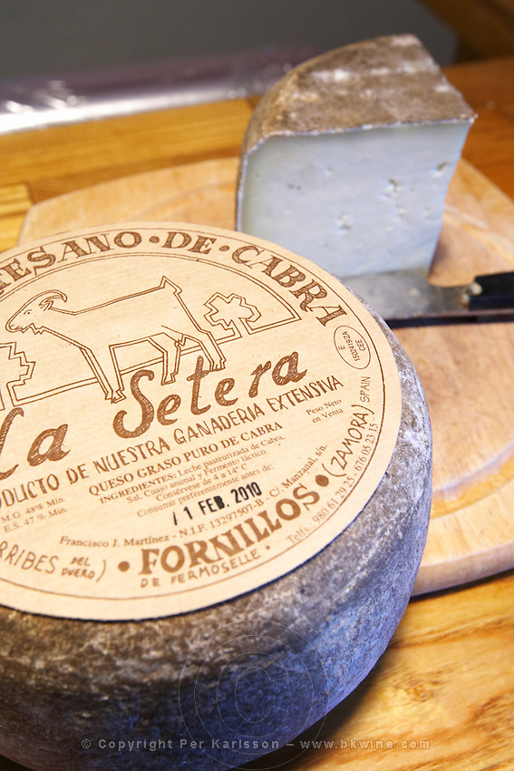 cheese shop Bodega La Setera, DO Arribes del Duero spain castile and leon