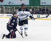 Tage Thompson (UConn - 29), Mark Hamilton (Maine - 47) - The University of Maine Black Bears defeated the University of Connecticut Huskies 4-0 at Fenway Park on Saturday, January 14, 2017, in Boston, Massachusetts.