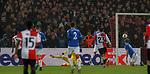28.11.2019: Feyenoord v Rangers: Luis Sinisterra scores