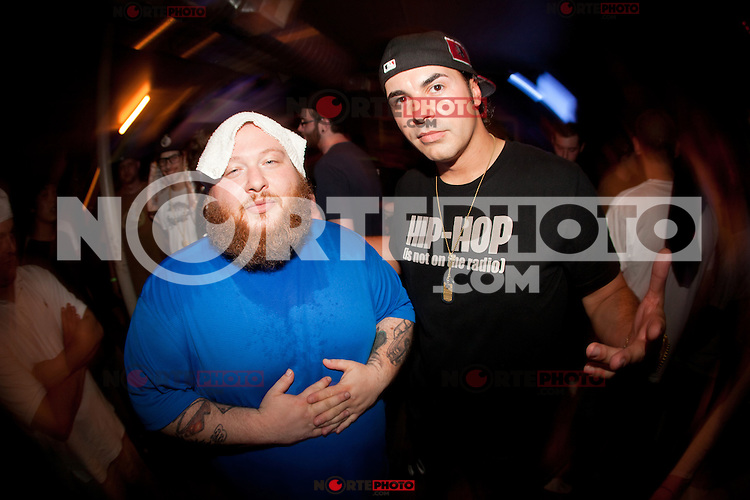 Action Bronson at the after party after their performance at the Pike Room in Pontiac, Michigan on May 25, 2012. © Joe Gall / MediaPunch Inc.