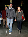 10-11-09 ..Kate Walsh holding hands with her new boyfriend after leaving the Arc Light movie theatre in Hollywood California.  The couple said they watched the movie Paranormal Activity ....AbilityFilms@yahoo.com.805-427-3519.www.AbilityFilms.com.
