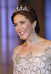 """CROWN PRINCESS MARY OF DENMARK.attends the gala farewell dinner for Queen Beatrix at the Rijksmuseum in Amsterdam, The Netherlands_April 29, 2013..Crown Prince Willem-Alexander and Crown Princess Maxima will be proclaimed King and Queen  of The Netherlands on the abdication of Queen Beatrix on 30th April 2013..Mandatory Credit Photos: ©NEWSPIX INTERNATIONAL..**ALL FEES PAYABLE TO: """"NEWSPIX INTERNATIONAL""""**..PHOTO CREDIT MANDATORY!!: NEWSPIX INTERNATIONAL(Failure to credit will incur a surcharge of 100% of reproduction fees)..IMMEDIATE CONFIRMATION OF USAGE REQUIRED:.Newspix International, 31 Chinnery Hill, Bishop's Stortford, ENGLAND CM23 3PS.Tel:+441279 324672  ; Fax: +441279656877.Mobile:  0777568 1153.e-mail: info@newspixinternational.co.uk"""