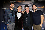 LOS ANGELES - NOV 9: Chuck Saculla, George Takei, Benjamin Pollack, Matt Zarley at the special screening of Matt Zarley's 'hopefulROMANTIC' at the American Film Institute on November 9, 2014 in Los Angeles, California