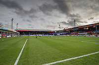 General view of Kenilworth Road Stadium, home of Luton Town Football Club ahaead the Sky Bet League 2 match between Luton Town and Wycombe Wanderers at Kenilworth Road, Luton, England on 26 December 2015. Photo by David Horn.