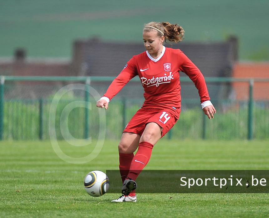 RSC Anderlecht Dames - FC Twente : Tessa Klein Braskamp.foto DAVID CATRY / Nikonpro.be