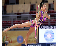 September 9, 2018 - Sofia, Bulgaria - LAURA ZENG of USA performs during early trainings at 2018 World Championships.