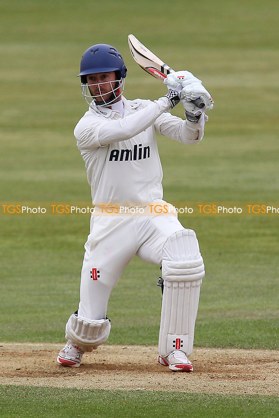 James Foster in batting action for Essex - Northamptonshire CCC vs Essex CCC - LV County Championship Division Two Cricket at the County Ground, Northampton - 19/04/13 - MANDATORY CREDIT: Gavin Ellis/TGSPHOTO - Self billing applies where appropriate - 0845 094 6026 - contact@tgsphoto.co.uk - NO UNPAID USE.