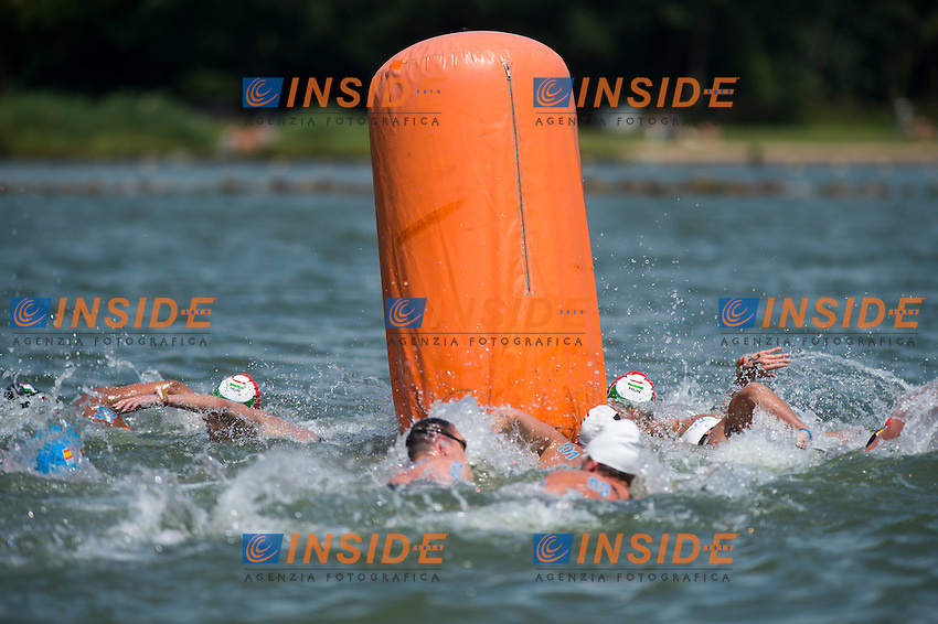 Buoy<br /> Hoorn, Netherlands <br /> LEN 2016 European Open Water Swimming Championships <br /> Open Water Swimming<br /> Men's 10km<br /> Day 01 10-07-2016<br /> Photo Giorgio Perottino/Deepbluemedia/Insidefoto