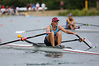 Race: 135  W.1x (Band 1)  Final<br /> <br /> Peterborough Summer Regatta 2018 - Sunday<br /> <br /> To purchase this photo, or to see pricing information for Prints and Downloads, click the blue 'Add to Cart' button at the top-right of the page.