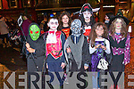 Getting into the spirt of Halloween in Kenmare last Thursday for the parade. <br /> Front L-R Ollie O'Shea, Thomas O'Reilly, Luke Mayhew, Mia Vukdragovic and Sinead O'Reilly. <br /> Back L-R Glora Vukdragovic and Robyn Mayhew.