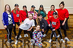 Tenacity School Of Performing Arts  Front l-r Natasha Poff, Katelyn Diggin, Ava Reilly, Katelyn Holly, Back l-r Joanne O'Connor, Teacher, Ava Peevers, sinead trent, Andrea O Callaghan, Laura Fitzgerald, Caoimhe Henry, Diran Thomas at the Spectrum Hip Hop  Championships at the Brandon Hotel on Saturday