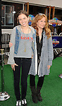 "Universal City, CA - March 27: Lea Thompson and daughter Zoey Deutch  arrive at the Los Angeles premiere of ""Hop"" at Universal Studios Hollywood on March 27, 2011 in Universal City, California."