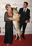 BEVERLY HILLS, CA - OCTOBER 01: Prince Lorenzo Borghese, Rin Tin Tin arrive at The American Humane Association's First Annual Hero Dog Awards at The Beverly Hilton Hotel on October 1, 2011 in Beverly Hills, California.