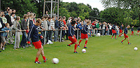 KV Kortrijk eerste training..veel volk op de eerste training..fotos DAVID CATRY/VDB