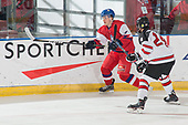 Bonnyville, AB - Dec 13 2018 - Canada West vs. Czech Republic during the 2018 World Junior A Challenge at the R.J. Lalonde Arena in Bonnyville, Alberta, Canada (Photo: Matthew Murnaghan/Hockey Canada)